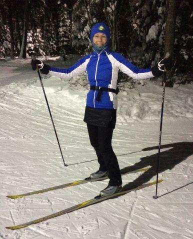 night-ski